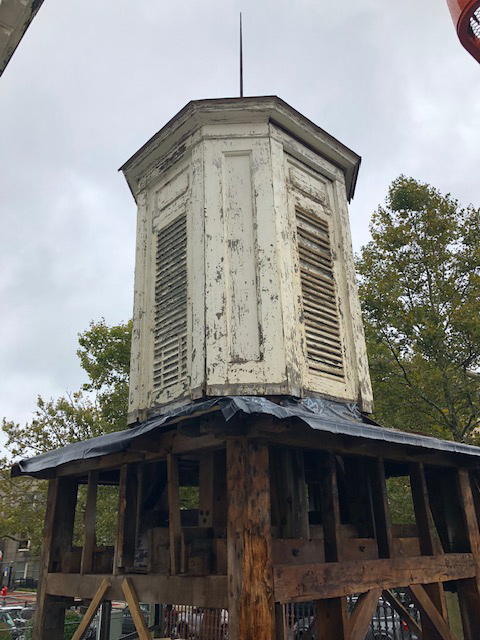 New Bell Tower Damage