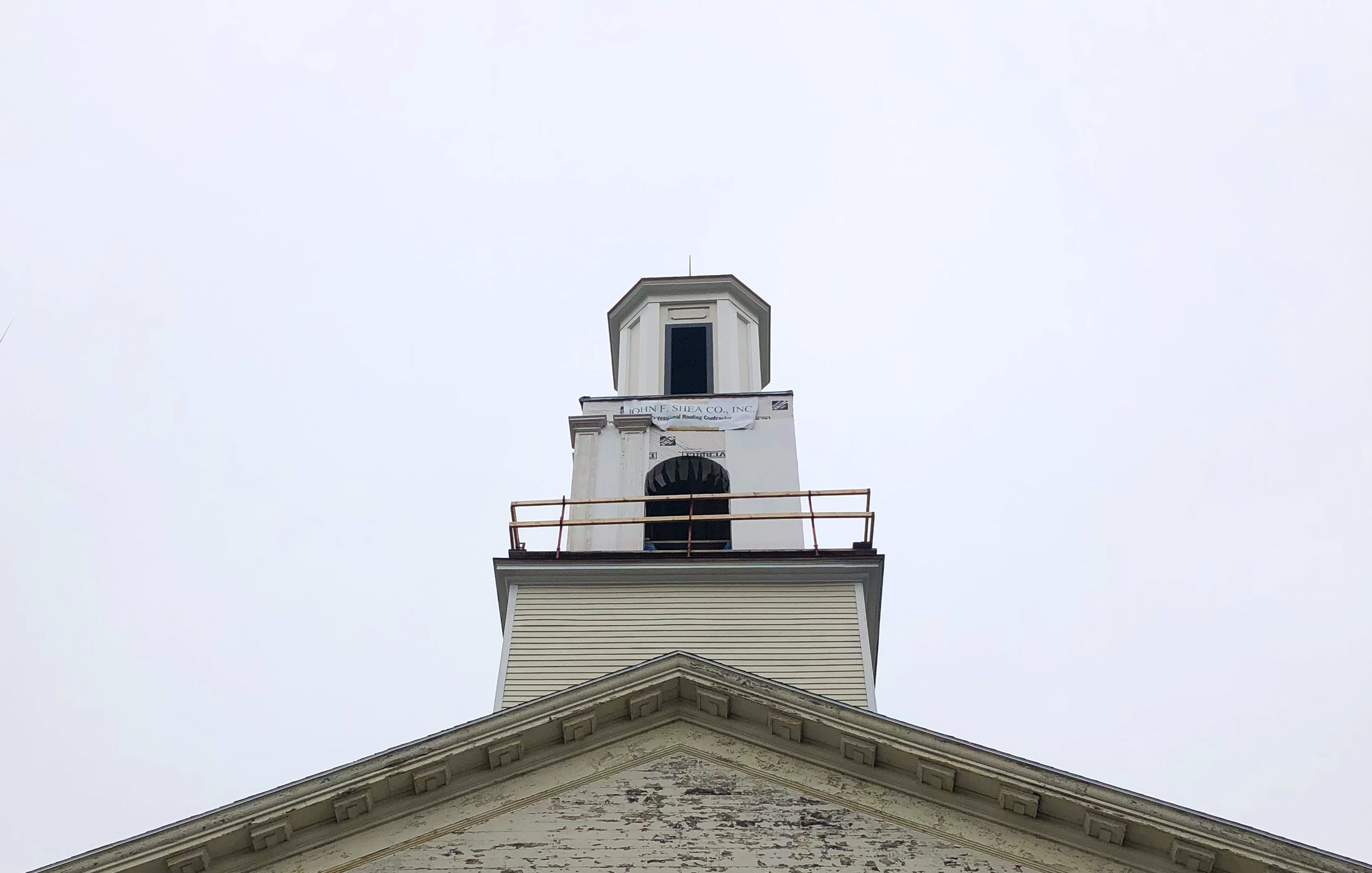 New Bedford Church Steeple Restoration —John F. Shea, Inc.